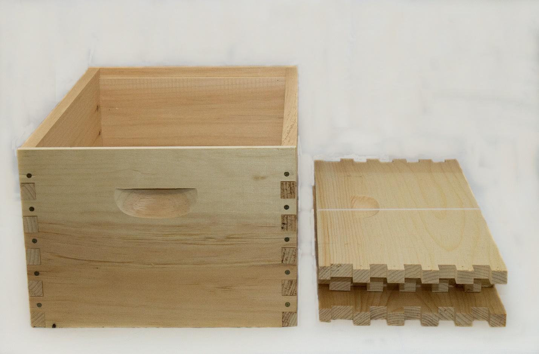 10 Frame Deep Hive Body
